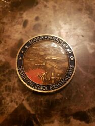 Shock And Awe Operation Iraqi Freedom 2003 Air Force Challenge Coin