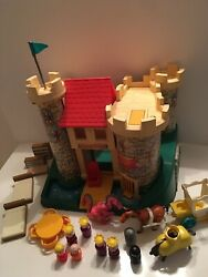 Vintage Fisher Price Play Family Castle Set