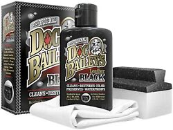 Doc Baileyandrsquos Leather Detail Kit Black - Restore Your Black Leather And Vinyl Wi...