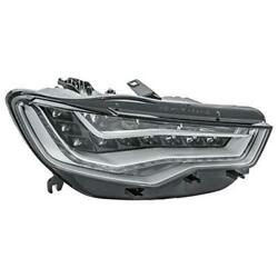 Hella Headlight Led For Audi A6 4g2 4g5 4gh C7 Right
