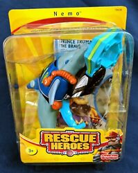 Fisher Price Rescue Heroes Nemo The Dolphin New In Unopened Package