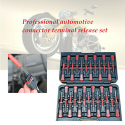 25x Motorcycle Crimp Terminal Cable Wiring Connector Release Tool With Box
