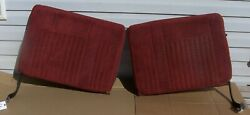 87 - 91 Ford F150 F250 Bronco F350 Front Split Bench Seat Back Right And Left Oem