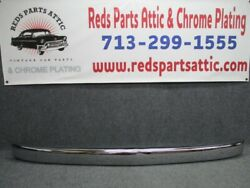 Vintage Jeepster Willys Front Bumper Fresh Chrome