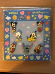 Mini-pin Collection - Cute Characters - Mickey Mouse And Friends Pin 74236