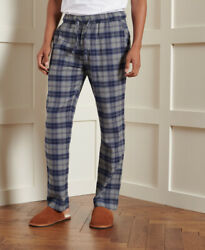 Superdry Mens Laundry Flannel Pants