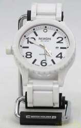 Used Nixon The51 30 Ceramic Automatic Winding Mens Watch Water Resistant To 300m