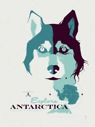 The Thing Antartica By Tom Whalen - Signed And Numbered - Mondo Print Sold Out