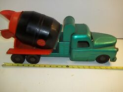 Vintage Structo Toys Pressed Steel Ready Mix Concrete Cement Truck