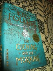 THE EVENING AND THE MORNING KEN FOLLETT FIRST EDITION SIGNED FREESHIPPING $47.50