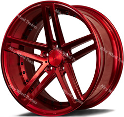 20 Red Ex20 Alloy Wheels Fits Mercedes E Class S212 S213 A207 A238 C207 C238