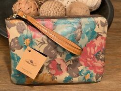 Weekend Sale Nwt Patricia Nash Cassini First Bloom Wristlet / Clutch -last One