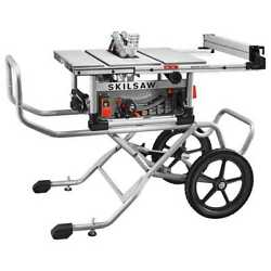 Skilsaw Spt99-12 +10 Heavy Duty Worm Drive Table Saw + Stand + Diablo Bld New