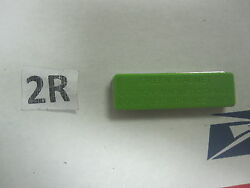 25 Green Plastic Blank Name Tags Badges 1-3/4 X 1/2 Magnetic Backing W/ Sticky