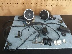 98 1998 Harley Davidson Road King Speakers Aftermarket Universal With Controls
