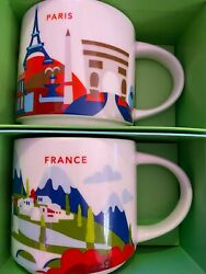 Starbucks France + Paris You Are Here Yah Collector Series Mug With Sku