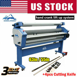 63in / 55in Full-auto Large Format Cold Laminator, With Heat Assisted And Trimmer