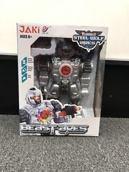 Beast Ares Steel Wolf Rc Robot With Light And Sound Effects Brand New