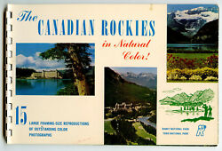 The Canadian Rockies In Natural Color 15 Reproductions Large Color Photographs