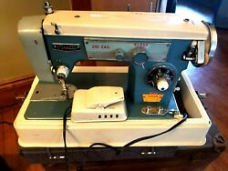 Vintage Visetti Super De Luxe Zig Zag Sewing Machine As Advertised In Life