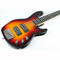 Used G And L L-2500 5-string Bass Version Us With Gig Bag Rare M