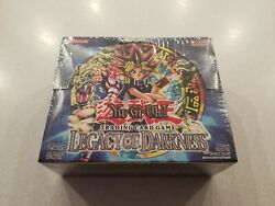 Yugioh Legacy Of Darkness Factory Sealed Booster Box 36 Packs New