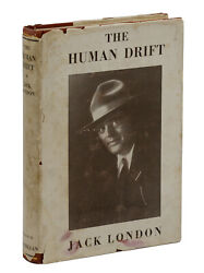 The Human Drift By Jack London First Edition 1917 Original Dust Jacket 1st