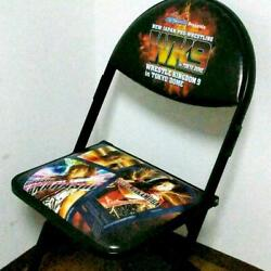 Wk9 Special Ring Side Commemorative Chair New Japan Pro Wrestling Rare Jp Seller