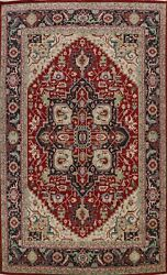 9x12 Vegetable Dye Geometric Traditional Oriental Area Rug Hand-knotted Classic