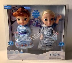 Disney Olafs Frozen Adventure Elsa And Anna Doll Sing And Light Ip Brand New
