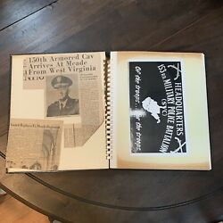 Vintage Photo Album Of The 153rd Military Police Battalion