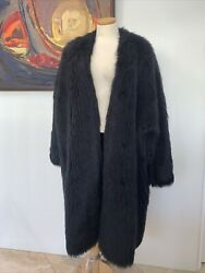 Stephen Sprouse 1984 Faux Fur Monkey Coat Rare Iconic Pop Vintage Collectable