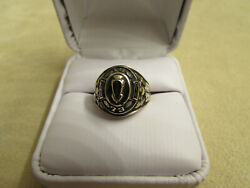 Vintage 1973 New Old Stock Woman 10kt Yellow Gold Chicago Vocational High School