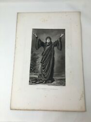 Mrs D P Bowers As Lady Macbeth Act 1 1887 Gravure Gebbie And Husson Co Ltd Print