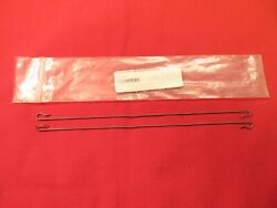 6768shelbymustangcobra Jet One Pair Fastback Headliner Rear Bow Wires