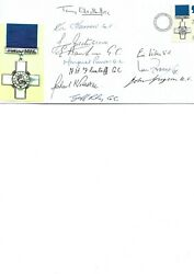 The George Cross Multisigned First Day Cover 21st Reunion Of The G.c. Assn