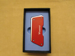 New Colibri Red Colored Wind Resistant Lighter