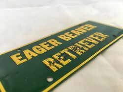 """Rare 50's General Mills Novelty Cereal Premium License Plate - 5"""" X 2"""""""