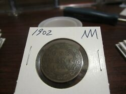1902 - Canada Large Cent - Canadian One Penny