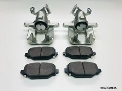 2 X Rear Caliper And Pads For Dodge Journey Jc / Freemont Jf 2012-2019 Bbc/jc/013a