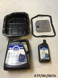 Transmission Oil Pan And Service Kit For Grand Cherokee 4.0l 1993-2004 Atp/wj/007a