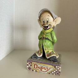 Snow White Disney Tradition Dopey 7 Little People Limited Figurine Used Item