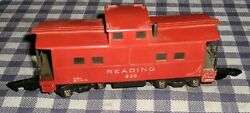 Vintage American Flyer No. 630 Reading Caboose, Lighted