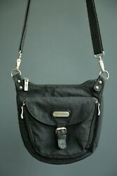 Baggallini Shoulder Crossbody Black bag purse $19.95