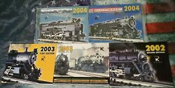 K-line Toy Trains 2002 2003 2004 First And Second Edition Catalog Magazine Model