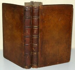 The Vicar Of Wakefield - A Tale - 3rd Edition - 1766 - F. Newbery. 2 Volume Set