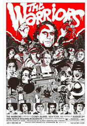 The Warriors By Tyler Stout - Variant - Signed And Numbered - Very Sold Out Mondo