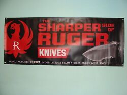 Crkt Ruger Knives Large 5 Ft. X 2 Ft. Heavy Duty Knife Store Advertising Banner