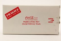 1927 Coca Cola Ford Delivery Truck 124 Scale By Danbury Mint