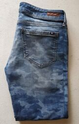 Ladies Jeans Milan Blue Skinny Fit Size W 29 L 34 Rrp Andpound140 8